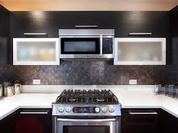 Kitchen Back Splashes by Nice Black Glass Tiles For Kitchen Backsplashes U2014 Railing Stairs