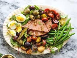 cuisine nicoise ham niçoise salad recipe cooking light