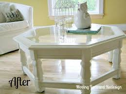 Painted Coffee Table Chalk Paint Coffee Table Transformation Hometalk