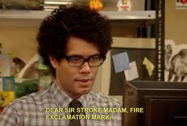 It Crowd Meme - some of the best random quotes from the it crowd first season