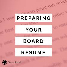 Example Of Australian Resume by How To Prepare A Board Resume Or Director Cv Get On Board Australia