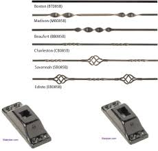 Spindles For Banisters Metal Balusters For Staircases Available From Stairplan