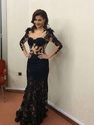dress long prom dress black black dress transparent dress