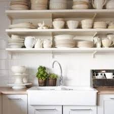 Captivating Rustic Kitchen Wall Shelves Pictures Design Ideas