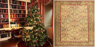 Christmas Rug Festive Red And Green Antique Rugs For Your Home Holiday Decor