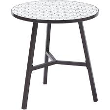 Tile Bistro Table Better Homes And Gardens Camrose Farmhouse Outdoor Steel Bistro