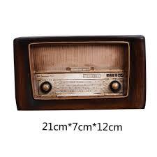 bar retro style home decor crafts vintage radio ornaments
