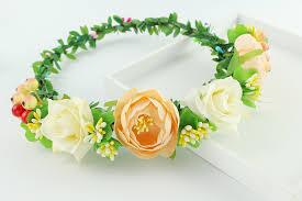 fruit headband online shop handmade aqua floral crown flower fruit headband