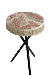 Bamboo Table Top by Antique Faux Bamboo Table With Paisley Top Michael Devine