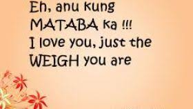 corny quotes for tagalog quotes