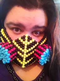 bead masks plur and kandi wanna trade plur