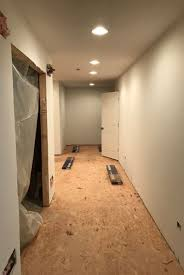 basement subfloor options dricore versus plywood home remodeling