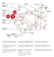 Shinagawa Station Map Access Information Hundred Stay Tokyo Shinjuku