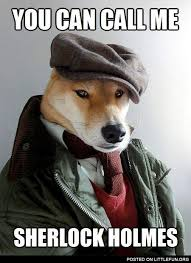 Sherlock Holmes Memes - littlefun you can call me sherlock holmes