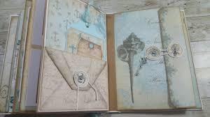 nautical photo album 5 nautical vectoria designs dt mini album
