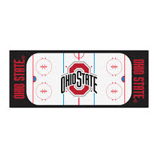 Ohio State Runner Rug Fanmats Ncaa Ohio State White 2 Ft 6 In X 6 Ft