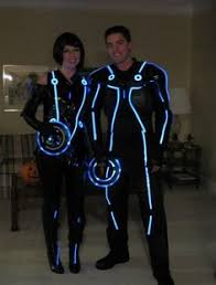 Tron Legacy Halloween Costume Tron Costume Glow Electroluminescent Wire