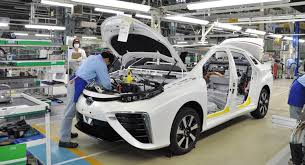 where is toyota made toyota starts building mirai in shares how it s made