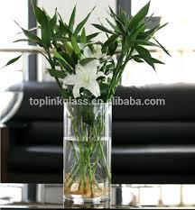 Cylinder Vases Wedding Centerpieces Cylinder Glass Vase Tealight Holder Cylinder Floating Candle Vase