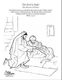 rich young ruler coloring page jesus heals jairus u0027 daughter coloring page script and bible