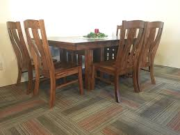 Red Oak Table by West Point Mission Red Oak Table With Laurie Chairs U2013 Wheatstate