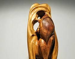 wood sculpture etsy