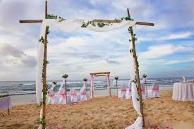 wedding arches bamboo decorations hawaiian barefoot weddings hawaiian barefoot weddings