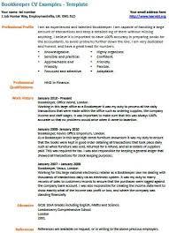 Bookkeeper Job Description For Resume by Bookkeeper Cv Example Bookkeeping Assistant Pinterest Cv