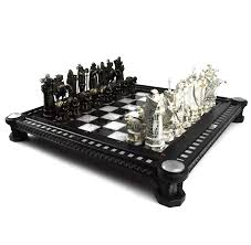 amazon com harry potter final challenge chess set toys u0026 games