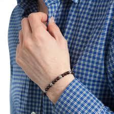man bracelet stone images Men 39 s bracelet in natural stones bijoux prives jpg