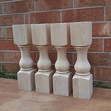 unfinished wood coffee table legs 4 pack solid wood shanty 2 chic coffee table legs 18 x 4 x 4