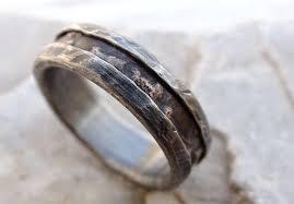 cool mens wedding rings buy a made cool mens ring alternative wedding band rugged