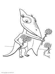 dinosaur train coloring pages ijigen me