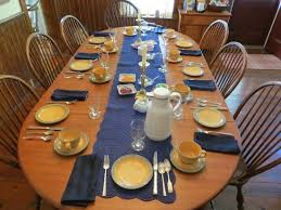 how to set table how to set breakfast table ohio trm furniture