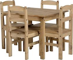 Small Pine Dining Table Panama Dining Set In Natural Wax Pine By Panama Amazon Co Uk