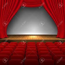 Premium Curtains Open Premium Curtains Theater Background Presentation