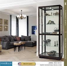Curio Cabinet Corner Curio Cabinet Miller Martindale Walnut Curio Display Cabinet