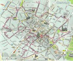 Brussels Map Best Thing To See At Brussels Belgium Comic Strip Murals My