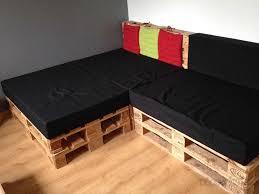 ameublement canapé housses en coton noir d ameublement pour assise en mousse de canapé