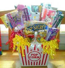 popcorn baskets 23 best popcorn images on raffle baskets gift