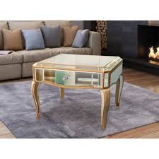 Mirrored Tables Mirrored Furniture Sincere Home And Leisure