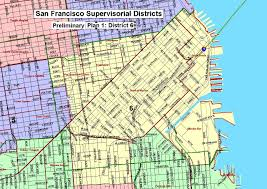 San Francisco County Map by Sf District Maps U0026 Data Sf Gsa