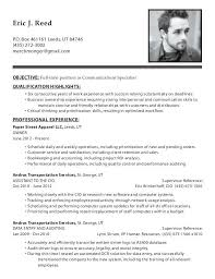 Data Entry Specialist Resume Communication Specialist Resume Professional Communications