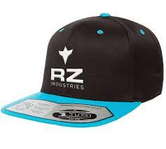 Rz Mask Cyan Black Snapback