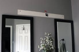 wooden light fixture gray house studio