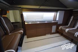 volkswagen california interior vw tourer three bridge campers vw camper conversions vw t5