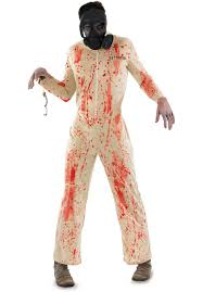 halloween inmate costume zombie male prisoner costume escapade uk