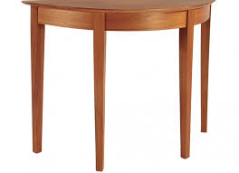 half round entry table the joinery portland oregon