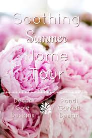 Rose Home Decor Soothing Summer Home Tour 2017 Neutral Transitional Home Decor