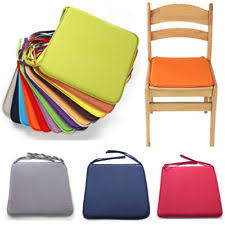 Tie On Chair Cushions Chair Pads Ebay